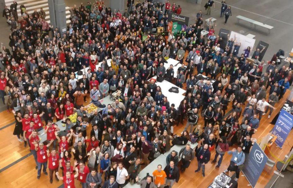 Todos los asistentes de la WordCamp Madrid 2019