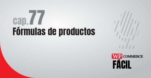 Woocommerce fórmulas de productos